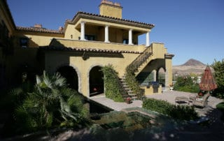 Private Residence At Lake Las Vegas Backyard