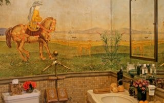 Private Residence At Lake Las Vegas Bathroom With Painting