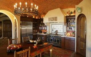 Custom Home At Lake Las Vegas Kitchen