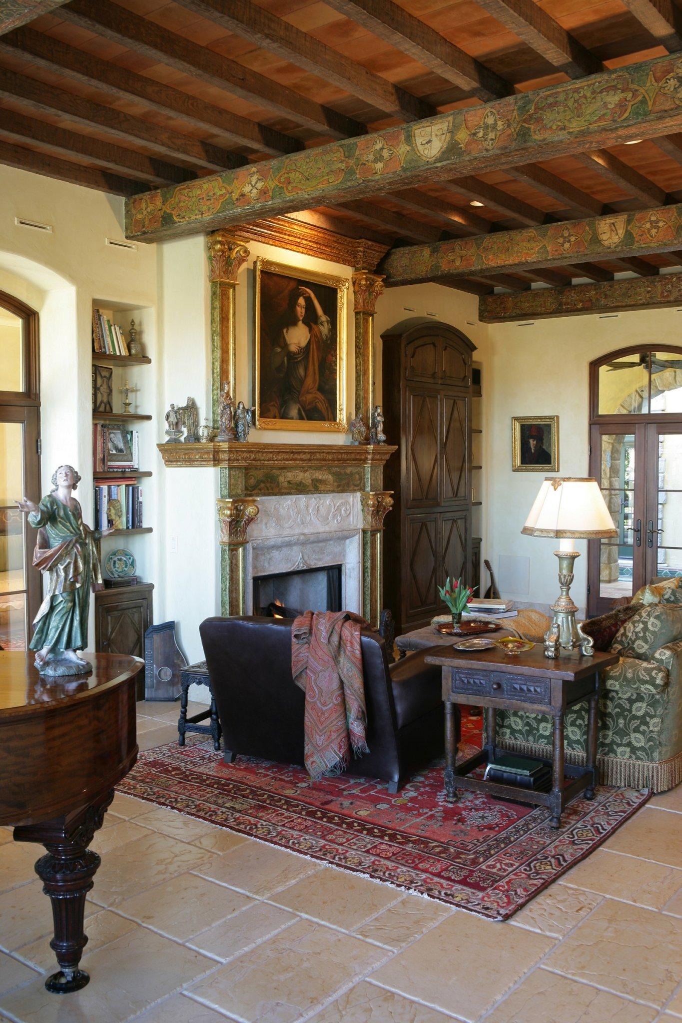 Chatsworth House Private Area: Custom Home At Lake Las Vegas