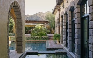Private Residence At Lake Las Vegas Water Feature