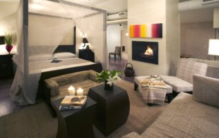 New American Home Bedroom