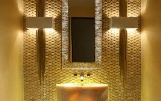 Custom Home At Macdonald Highlands Bathroom Sink