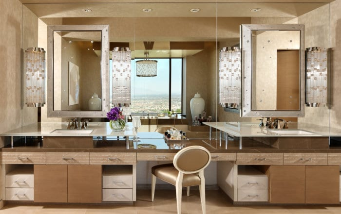 Custom Home At Macdonald Highlands Bathroom Vanity