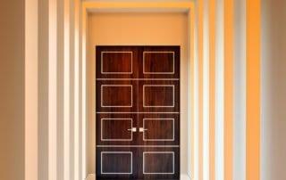 Custom Home At Macdonald Highlands Doorway