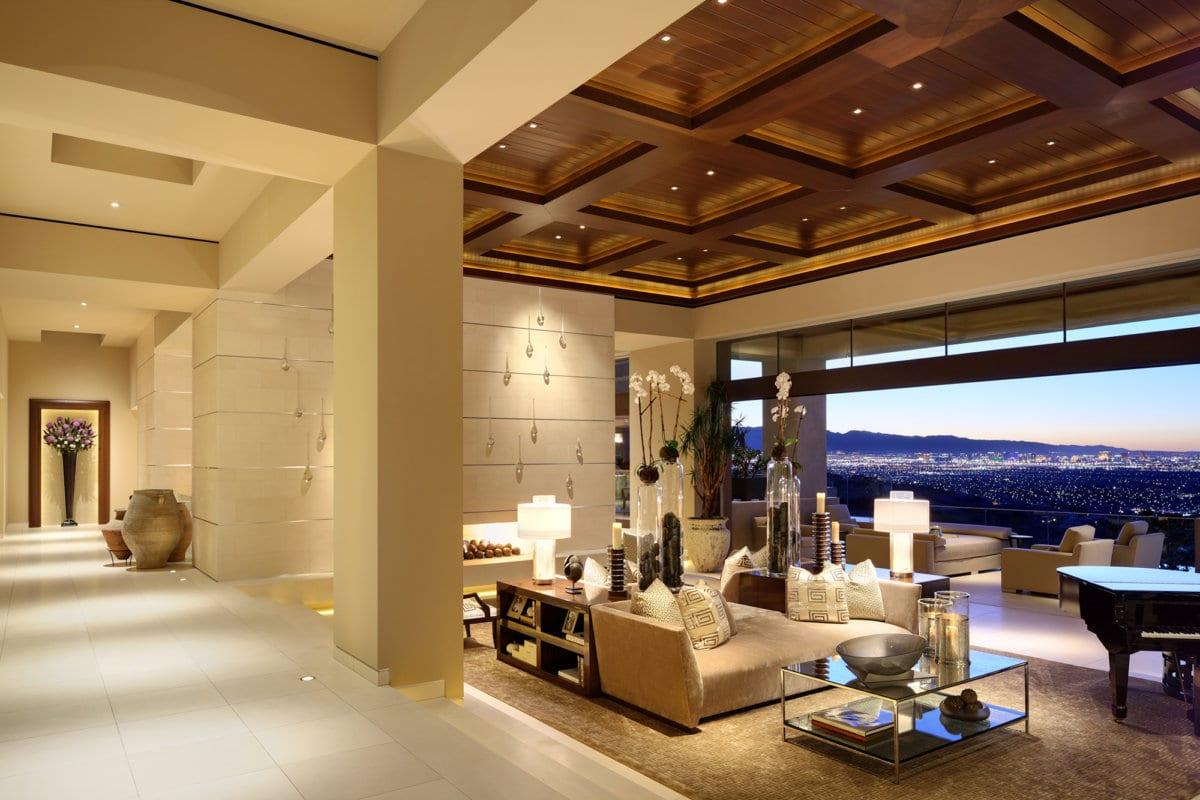Custom Home At Macdonald Highlands Interior