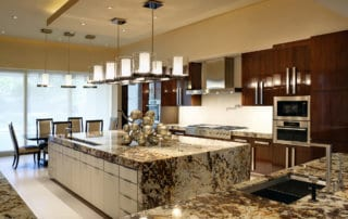 Custom Home At Macdonald Highlands Kitchen