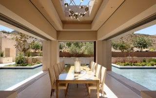Custom Home At Macdonald Highlands Outdoor Dining