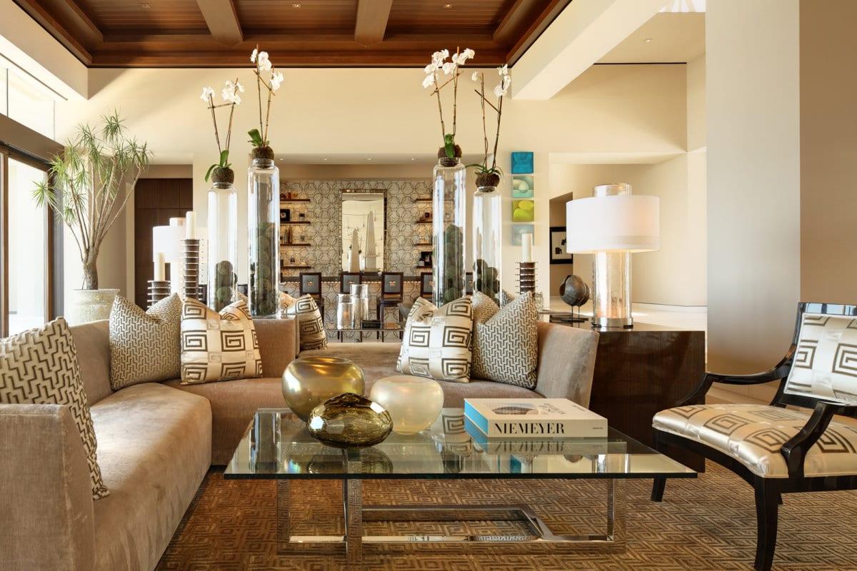 Custom HomeCustom Home At Macdonald Highlands - Interior Designer At Macdonald Highlands Sitting Area With Bar