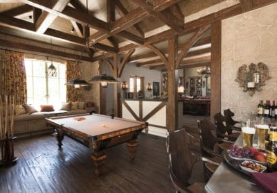 Custom Home At Southern Highlands Entertainment
