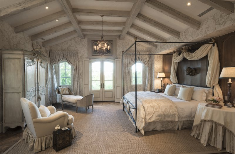 Private Residence At Southern Highlands Master BedroomCustom Home At Southern Highlands Master Bedroom