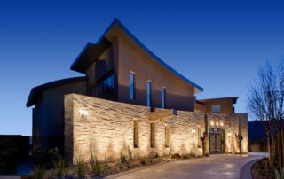 Custom Home At The Ridges Exterior And Entrance
