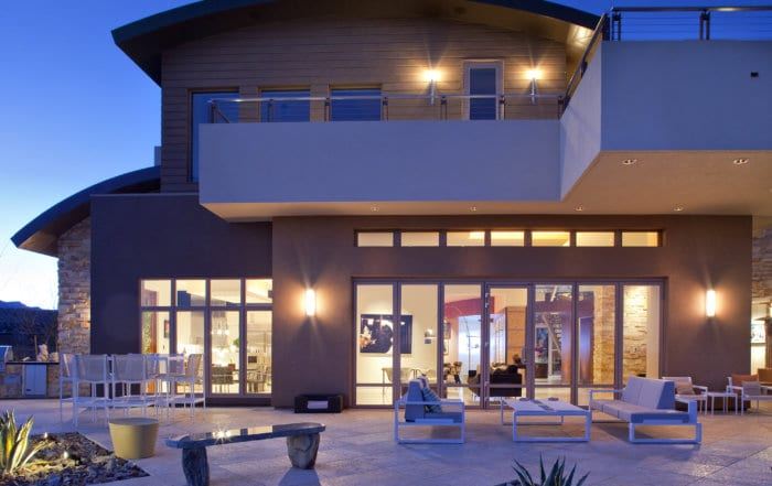 Custom Home At The Ridges Exterior At Night