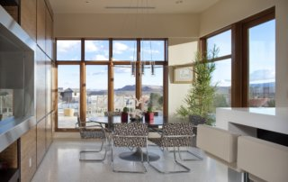 Custom Home At The Ridges Kitchen Table