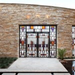 Private Residence At The Ridges Stained Glass Door