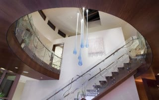 Custom Home At The Ridges Staircase