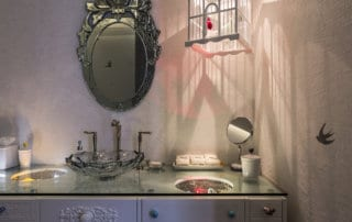 Private Residence At Veer Towers Bird Themed Bathroom