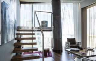 Private Residence At Veer Towers Library Stairway