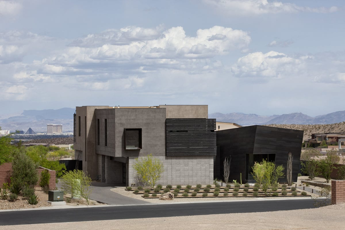 Custom home in Las Vegas