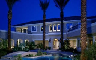 Custom Home at Eagle Hills Courtyard