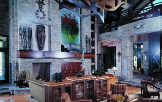Custom Home At Tournament Hills Sitting Area
