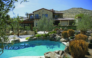 Private Residence At Southern Highlands Backyard And Pool