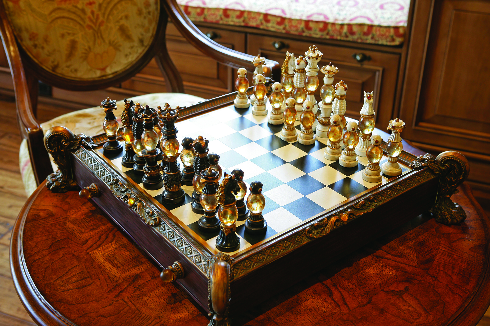 Private Residence At Southern Highlands Chess Set