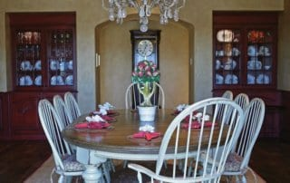 Private Residence At Southern Highlands Dining Room