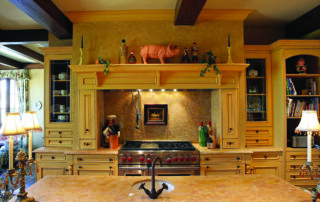 Private Residence At Southern Highlands Kitchen