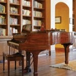 Private Residence At Southern Highlands Piano And Library