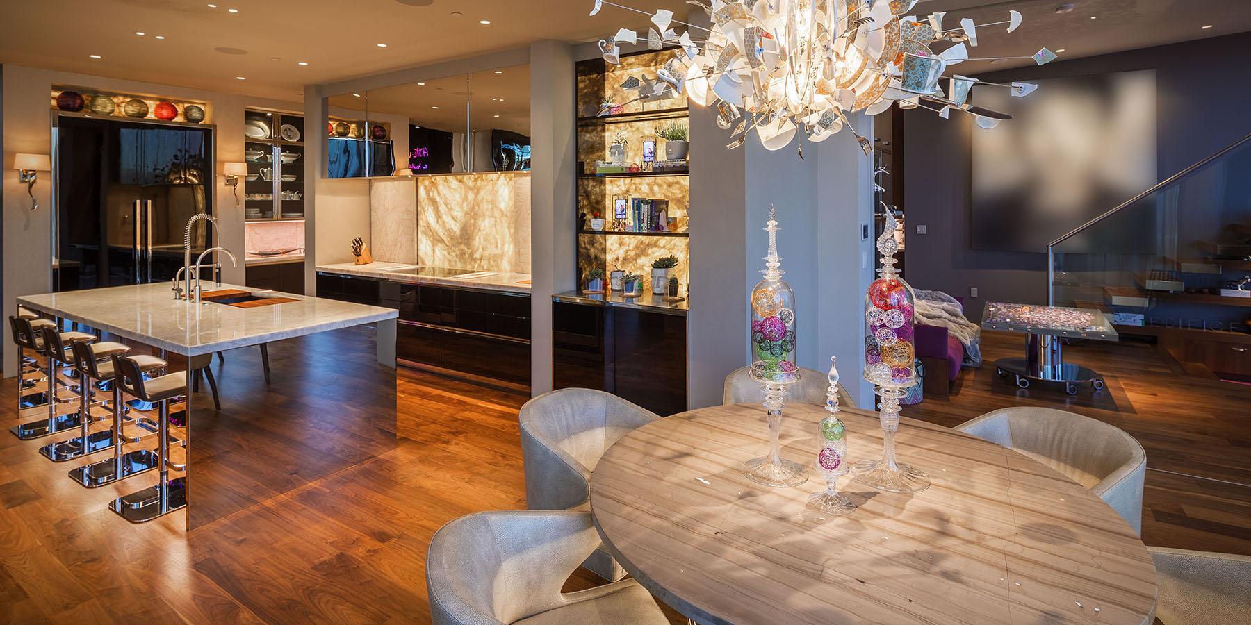 Merlin Veer Towers Custom Home's Price