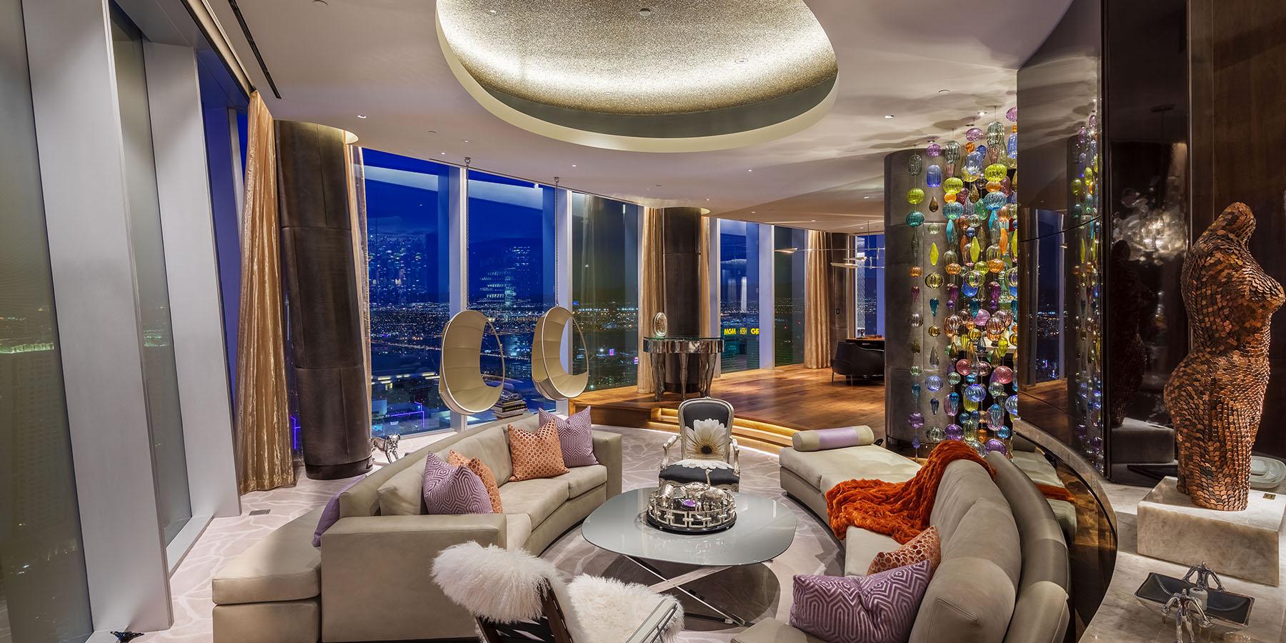 Merlin Contracting Veer Towers Livingroom Sitting Area