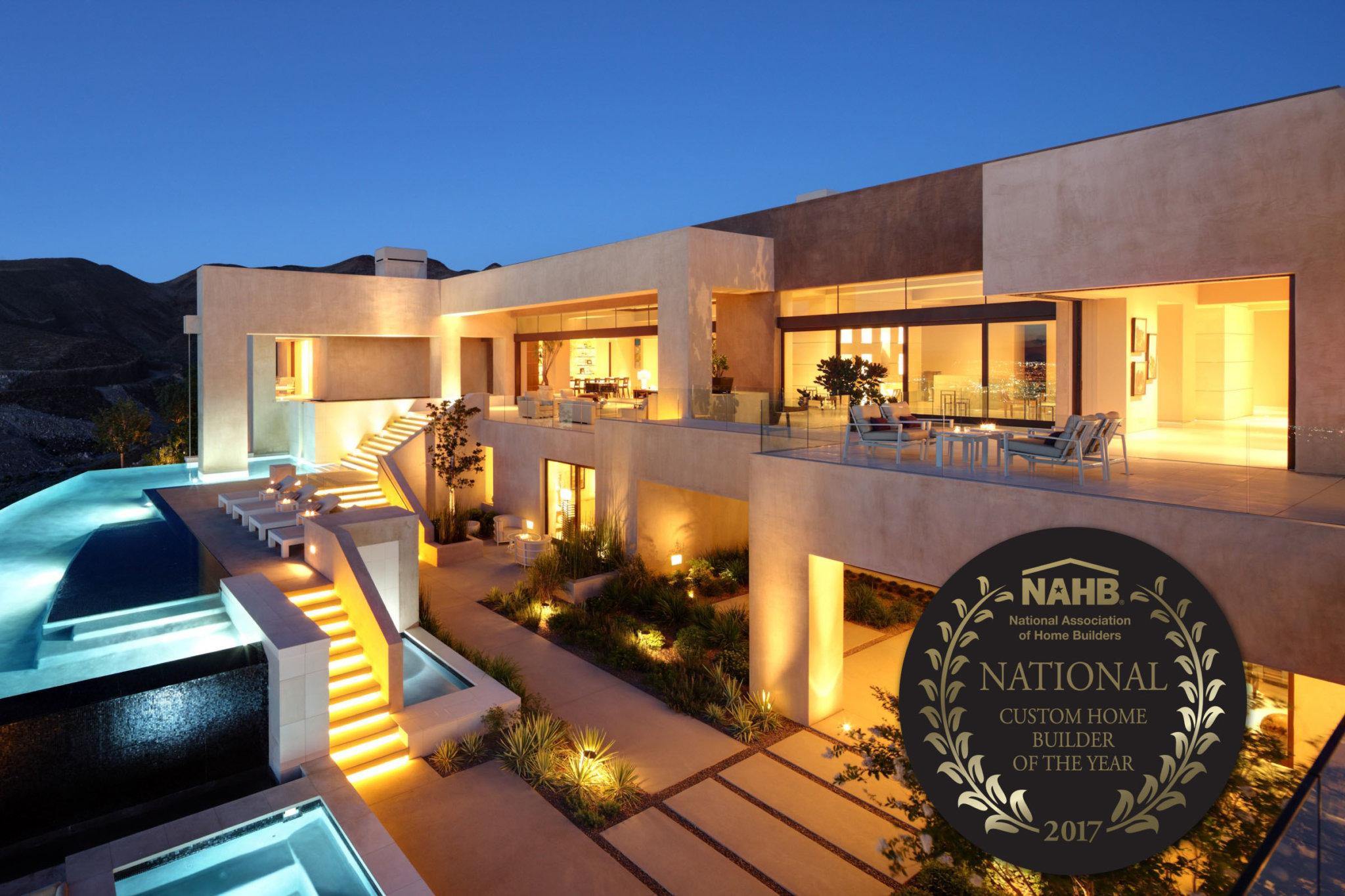 2017 National Custom Home Builder Award