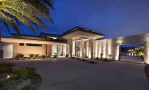 Merlin Custom Home Builders - Lake Las Vegas - Estates at Reflection Bay - front