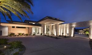 Merlin Custom Home Builders - Lake Las Vegas - Estates at Reflection Bay - front