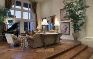 Custom Home at Eagle Hills Living Room
