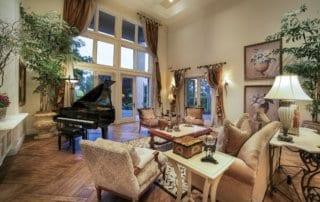 Custom Home at Eagle Hills Formal Living Room
