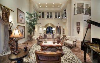 Custom Home at Eagle Hills Formal Living Room