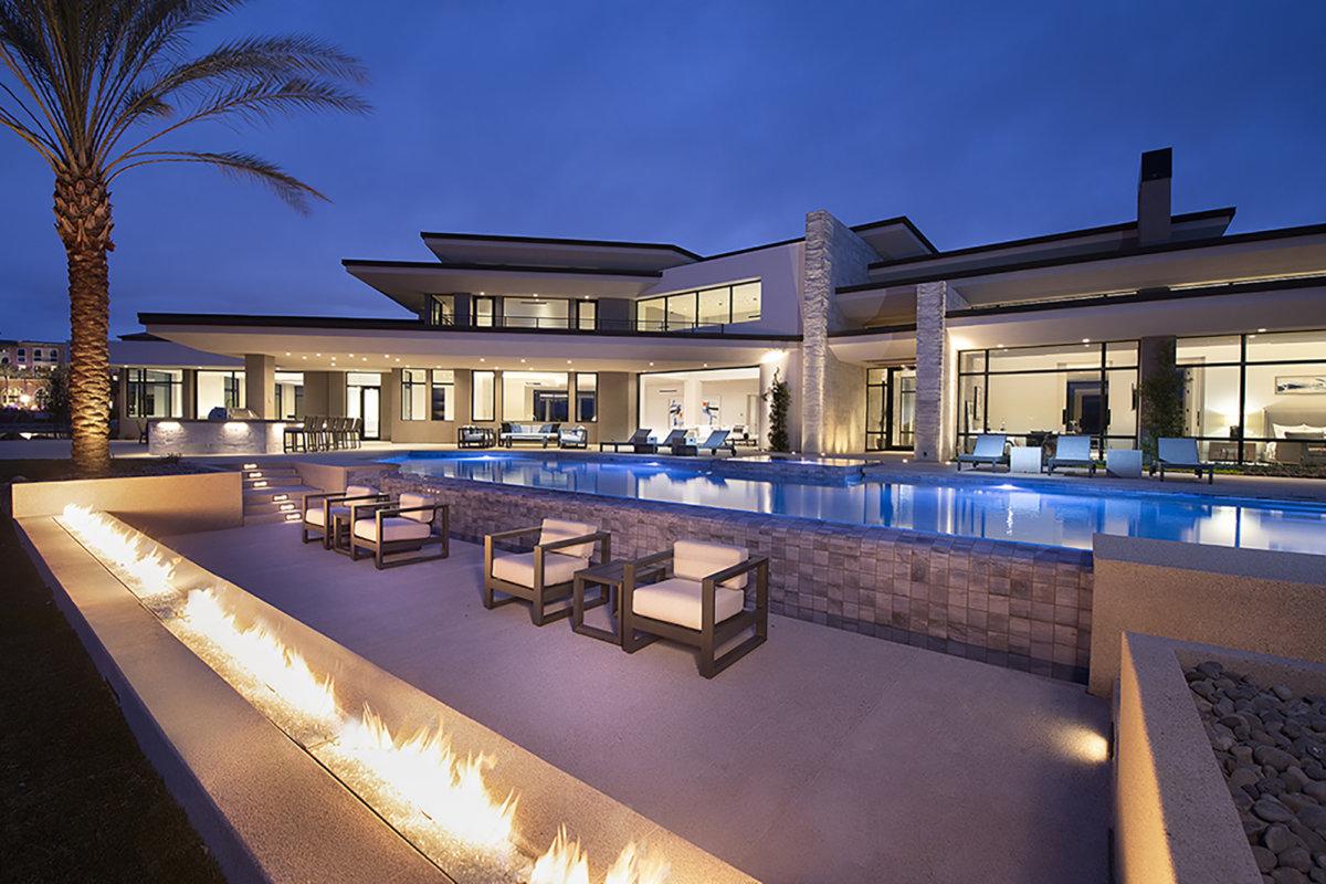 Merlin Custom Home Builders - Lake Las Vegas - Estates at Reflection Bay