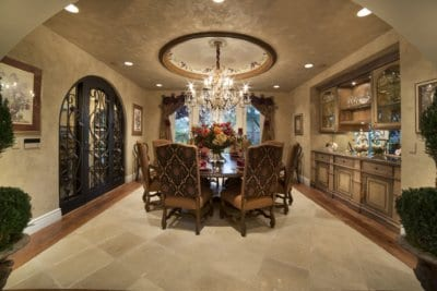 Custom Home at Eagle Hills Dining Room