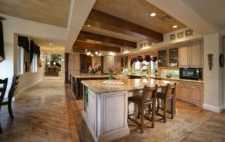 Custom Home at Eagle Hills Kitchen