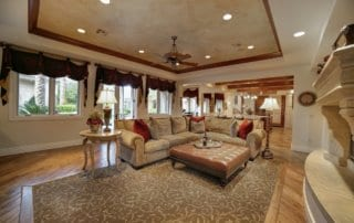 Custom Home at Eagle Hills Family Room