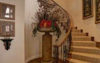 Custom Home at Eagle Hills Stairs