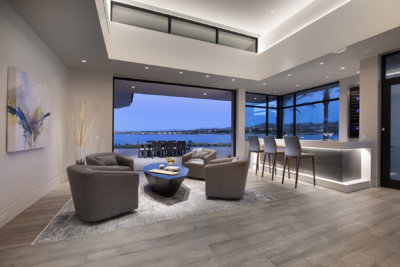 Custom Home Technologies - Bar - Estates at Reflection Bay - Merlin Custom Home Builders