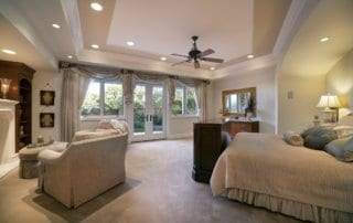 Custom Home at Eagle Hills Master Bedroom