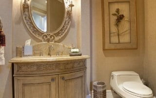 Custom Home at Eagle Hills Powder Room