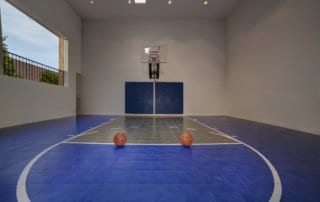 Custom Home at Eagle Hills Basketball