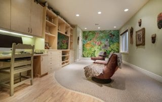 Custom Home at Eagle Hills Kids Office