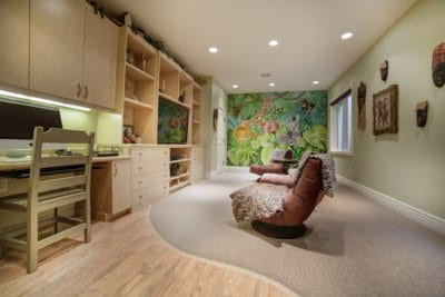 Custom Home at Eagle Hills Kids Office