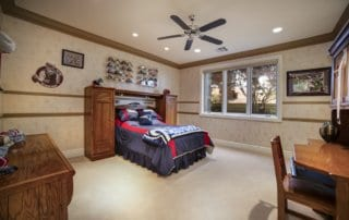 Custom Home at Eagle Hills Bedroom